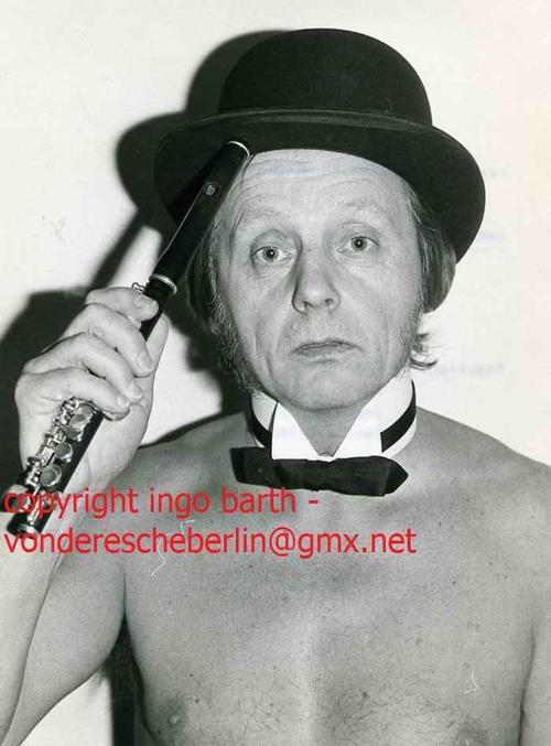 Ingo Barth - Handsigniertes Portrait: JAZZ-Spreetaler LOTHAR NOACK - Handabzug des Fotographen - VINTAGE kopen? Bied vanaf 65!