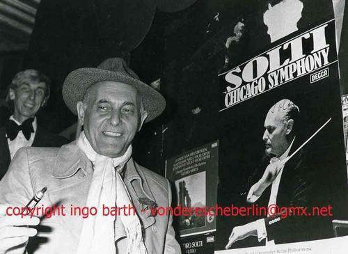 Ingo Barth - Handsigniertes Portrait: Sir GEORG SOLTI - Vintage Handabzug des ProminentenFotografen - 1978 kopen? Bied vanaf 65!