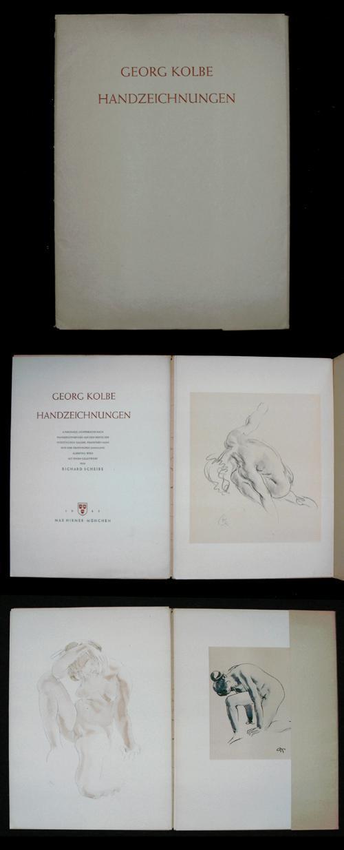 Georg Kolbe - Handzeichnungen, 10 Faksimile-Lichtdrucke. Mappenwerk 1943. kopen? Bied vanaf 200!