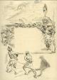 Max Slevogt - : Hasans Schwur, Lithographie 1921, signiert, Probedruck kopen? Bied vanaf 120!