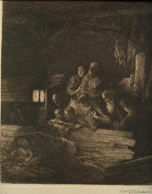 Heinrich Eickmann - Heinrich Eickmann Radierung wohl Stempelsignatur Heilige Familie kopen? Bied vanaf 130!