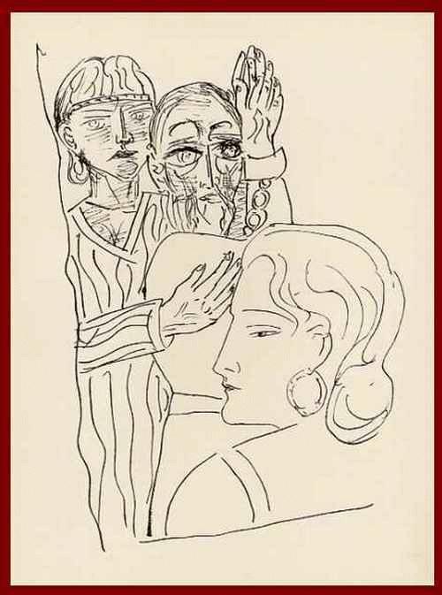 Max Beckmann - HELENA - Das ÜBEL das ICH BRACHTE DARF ICH NICHT BESTRAFEN - OriginalHolzstich 1957 m.Prägestempel17 kopen? Bied vanaf 54!