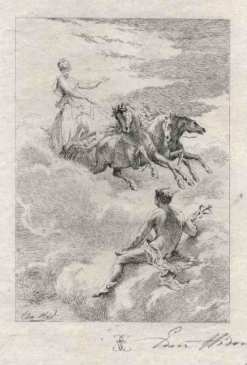 Edmond Hèdouin - HERMES & VENUSWAGEN - OriginalRadierung - Handsigniert/ EAU FORTE Originale Signée au crayon kopen? Bied vanaf 45!