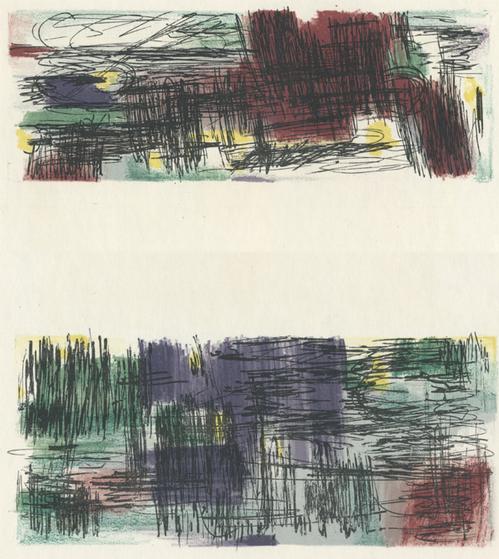 Jean René Bazaine - Hollande II, Farblithographie von 1957 kopen? Bied vanaf 48!