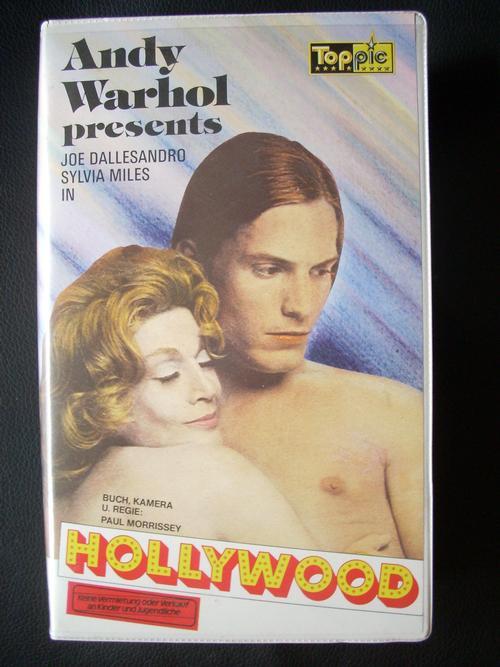 Andy Warhol - Hollywood - Original Video Kassette dieses Kultklassikers der 70er-Jahre kopen? Bied vanaf 30!