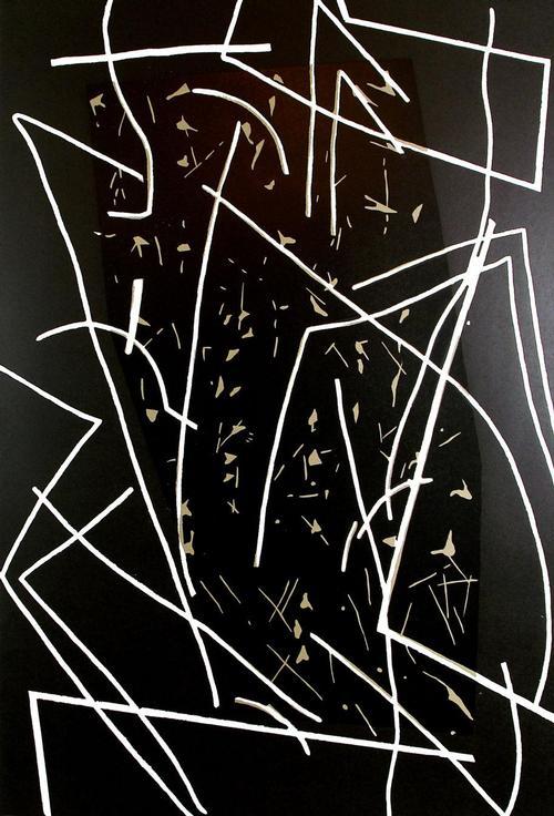 Pidder Auberger - Holzschnitt Nr. 61 - Original-Grafik von 1987, verso handsigniert, betitelt und datiert kopen? Bied vanaf 225!