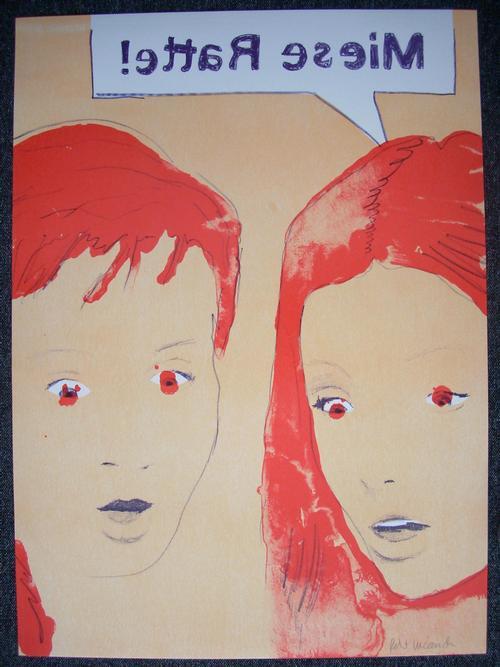 Robert Lucander - Holzschnitt und Lithographie (Kombinationsdruck) von 2006, handsigniert kopen? Bied vanaf 126!