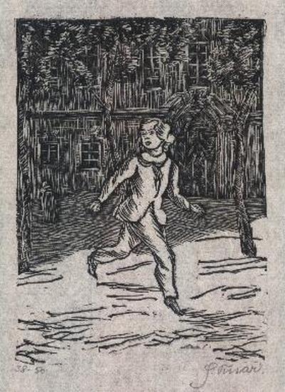 Slavoboj Tusar - - HYPERION - OriginalHolzschnitt des TSCHECHICHEN TYPOGRAPHEN handsigniert - num.1914 kopen? Bied vanaf 35!
