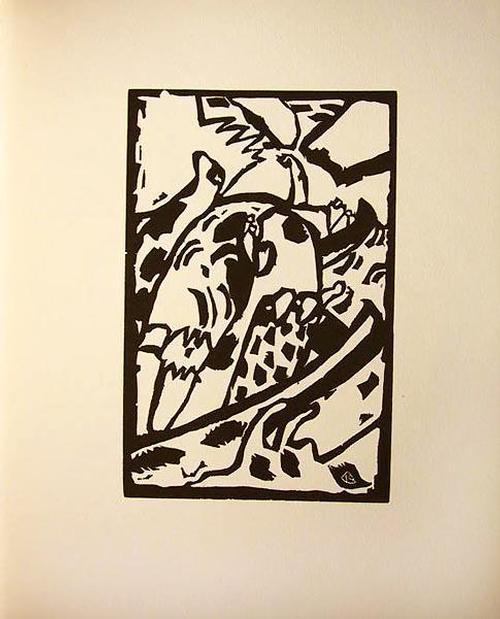 Wassily Kandinsky - Improvisation 7 Original-Holzschnitt 1911 Klänge kopen? Bied vanaf 88!