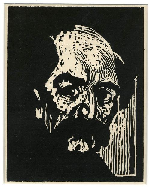 Emil Nolde - ITALIENER - Späterer Druck im OriginalFormat des ENTARTETEN BRÜCKE EXPRESSIONISTEN aus NOLDE (Sch26) kopen? Bied vanaf 75!