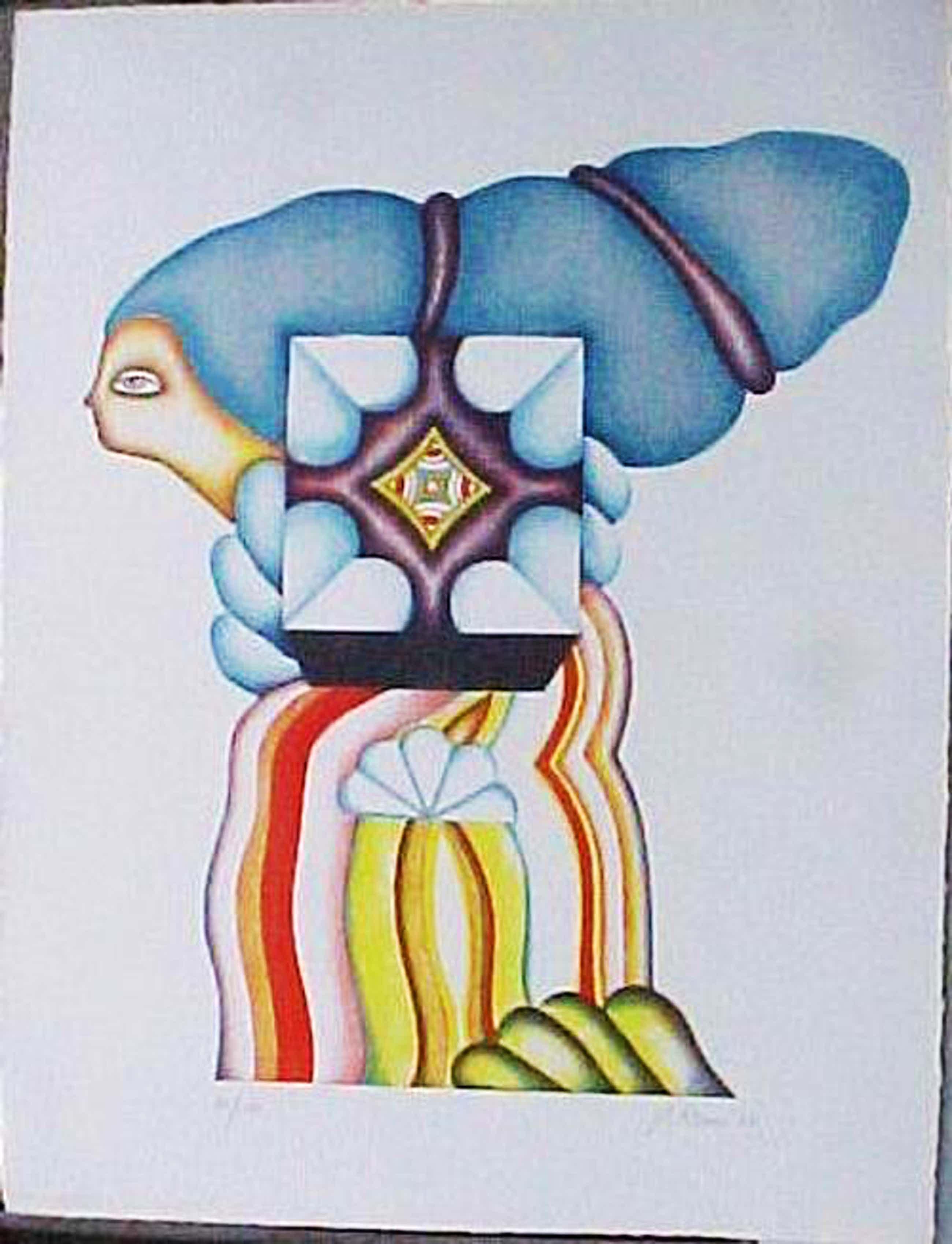 Jorg Reme - Italienerin mit Hochfrisur. Lithografie 1971 kopen? Bied vanaf 50!