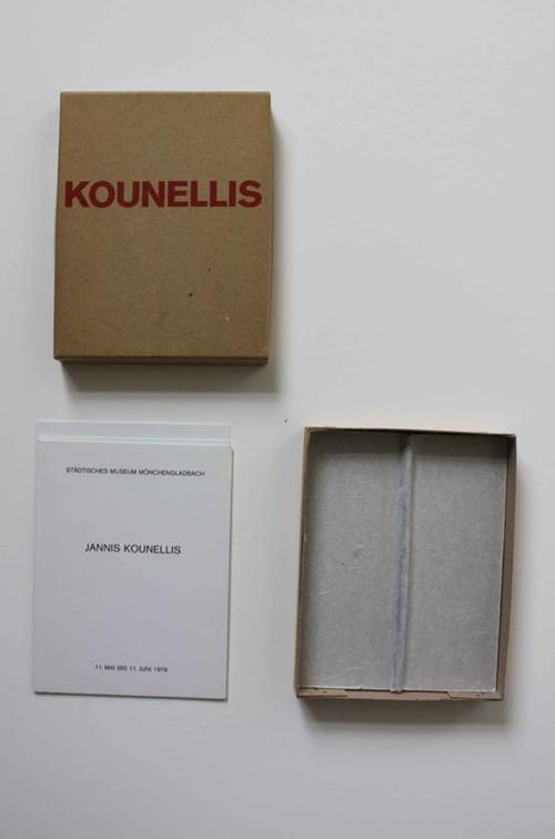 Jannis Kounellis - Jannis Kounellis, Katalogcasette, Mönchengladbach kopen? Bied vanaf 580!