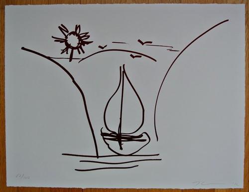 Jeff Koons - JEFF KOONS signed dated numbered 52/100 orig. Graphik SChlüsselwerk TEUERSTER KÜNSTLER WELTWEIT !!! kopen? Bied vanaf 3950!