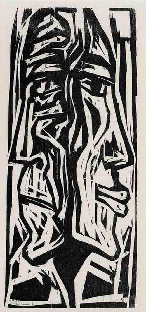 Max Kaus - JUNG & ALT - 1962 - OriginalHolzschnitt des entarteten MÜLLER-HECKEL-ROTTLUFF-Freundes aus BERLIN kopen? Bied vanaf 32!