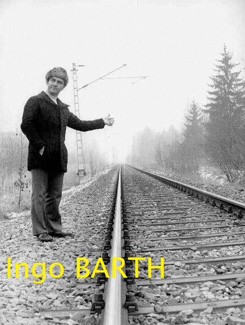 Ingo Barth - Jürgen FEINDT: Genialer deutscher Tanzkomiker, Choreograph & Schauspieler - als TRAMP der BAHN kopen? Bied vanaf 110!
