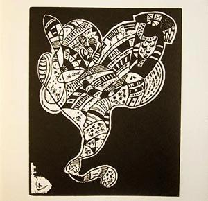 Wassily Kandinsky - Kandinsky Dix Origins Holzschnitt 1944 Roethel 203 kopen? Bied vanaf 85!