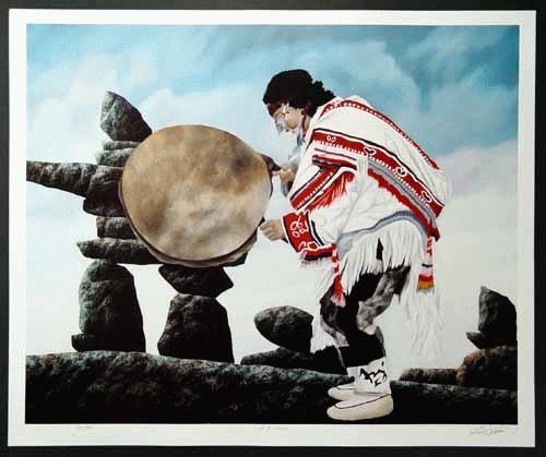 Kenneth Kirkby - Ken Kirkby: Cot of Colours - Kanada * Natur * Indianer * - handsigniert, nummeriert, betitelt kopen? Bied vanaf 28!