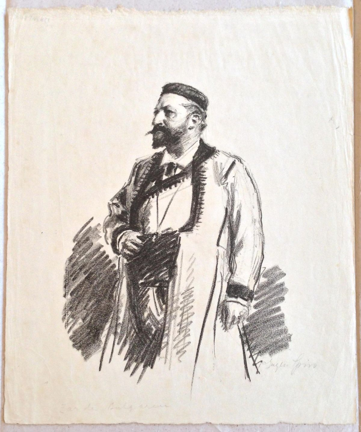 Eugen Spiro - König Ferdinand von Bulgarien. Lithographie kopen? Bied vanaf 230!