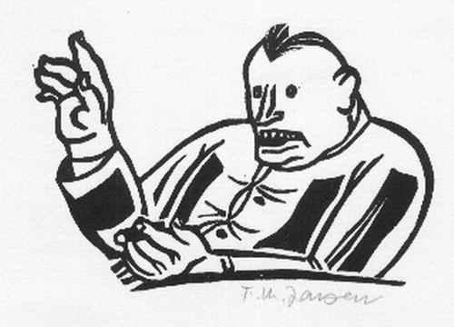 Franz Maria Jansen - KÖNIGSTREU - Handsignierter OriginalHolzschnitt d.Gründer s des RHEINISCH-BERGISCHEN Künstlerkreises kopen? Bied vanaf 65!