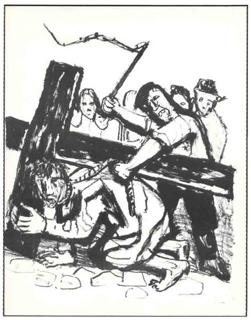 Otto Dix - KREUZTRAGUNG CHRISTI - OriginalLithographie (Handabzug) d.ENTARTETEN DADAisten DRESDENer SEZESSION kopen? Bied vanaf 53!