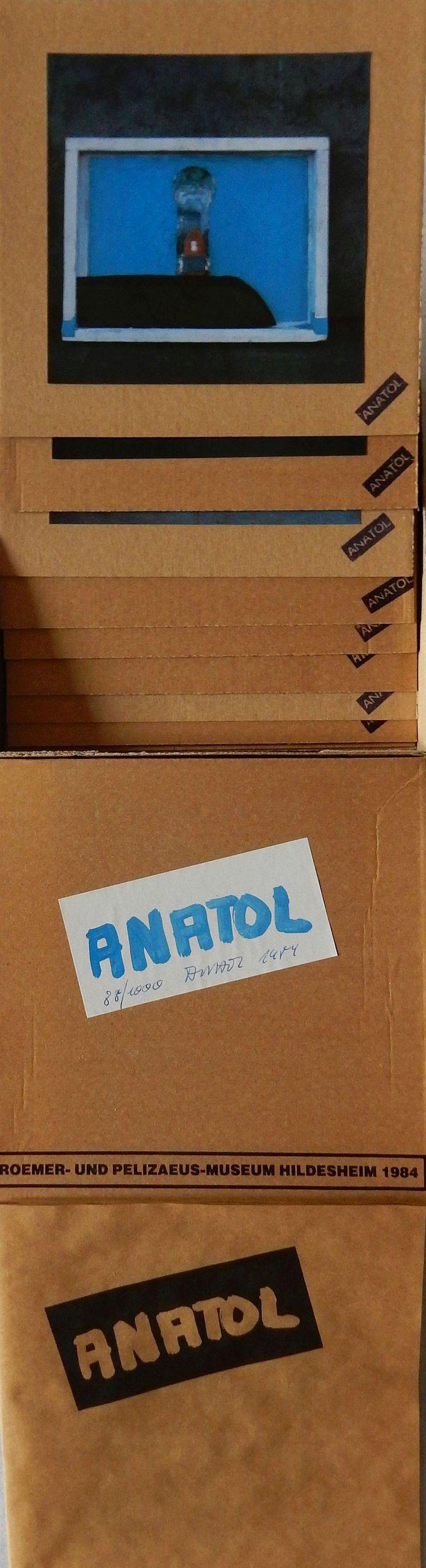Anatol Herzfeld - Kunstbox 88/1000, 30x30 cm, signiert 1984 kopen? Bied vanaf 69!