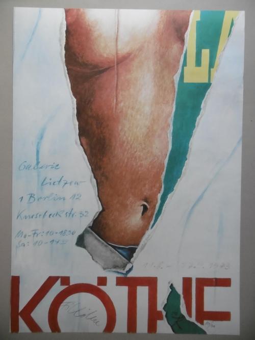 Fritz Köthe - Künstlerplakat, Farboffset von 1973, Auflage 300 signierte und nummerierte Exemplare kopen? Bied vanaf 75!