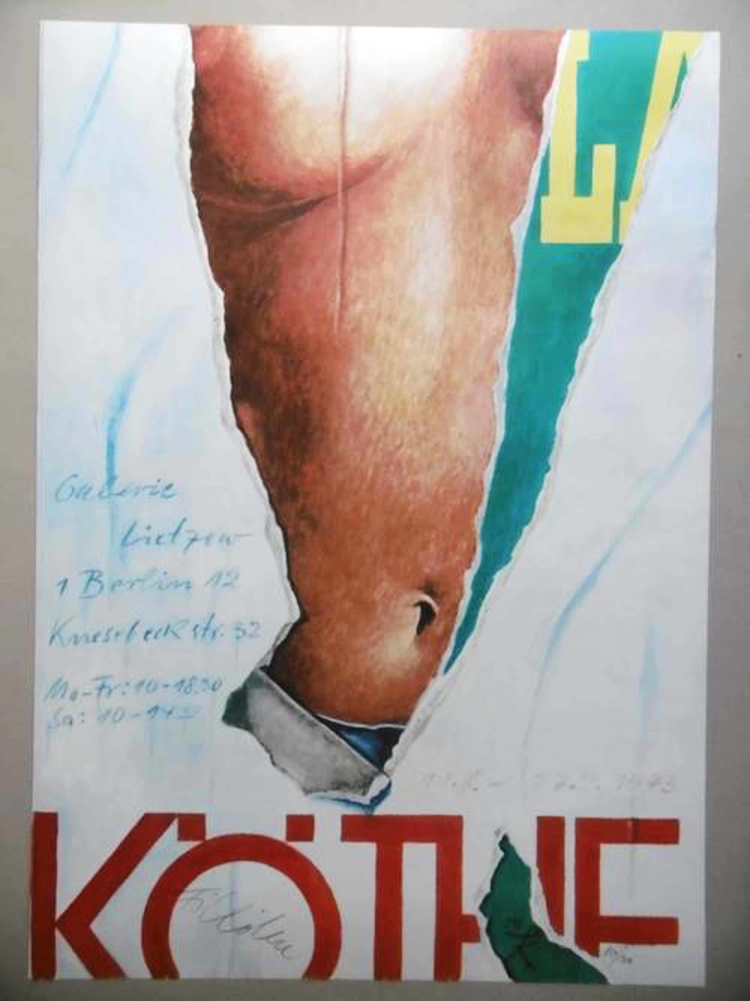 Fritz Köthe - Künstlerplakat, 1973, Auflage 300, signierte und nummerierte Exemplare kopen? Bied vanaf 75!
