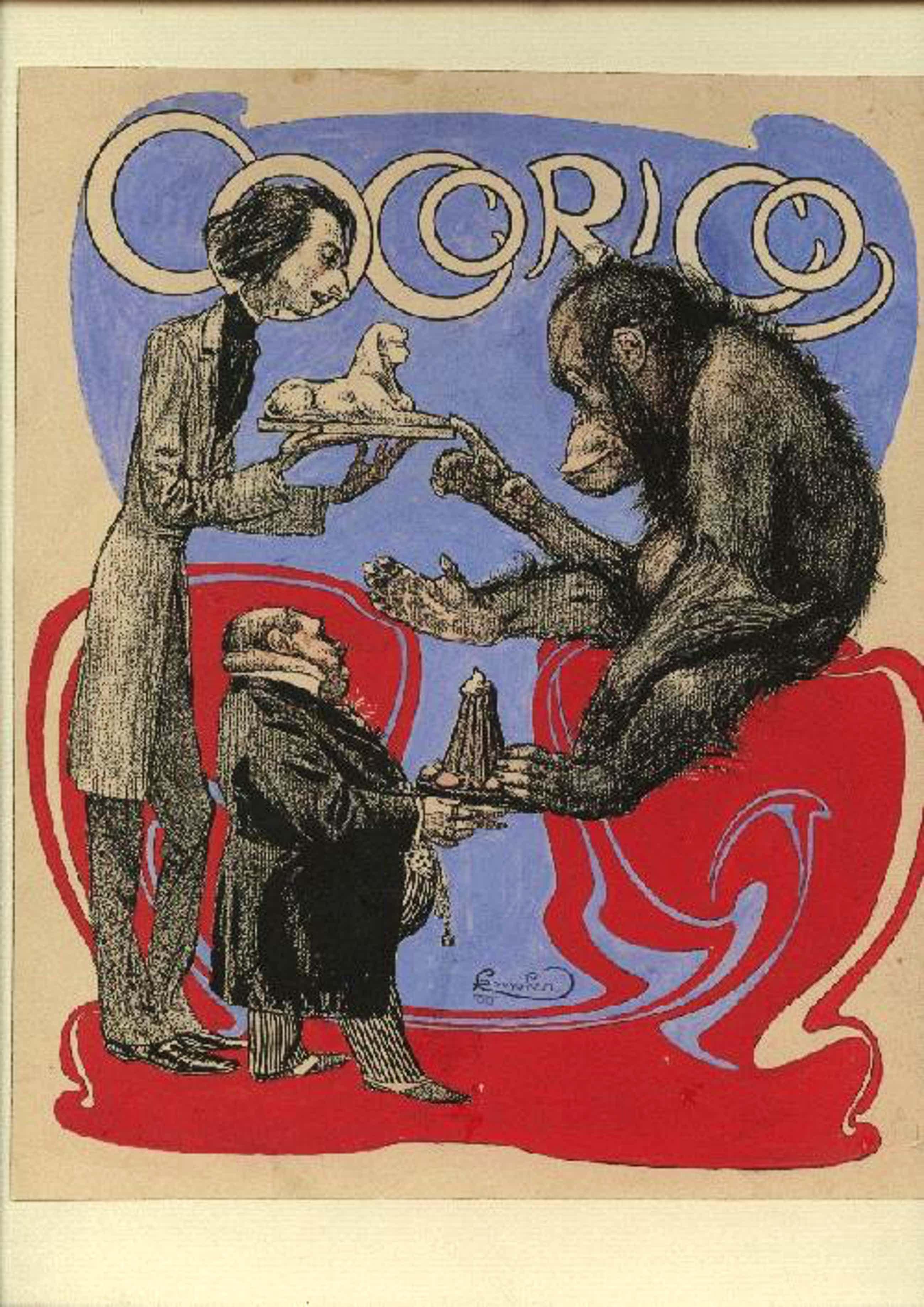 Frantisek Kupka - FRANTISEK KUPKA, Illustration zu Cocorico, signiert kopen? Bied vanaf 3000!
