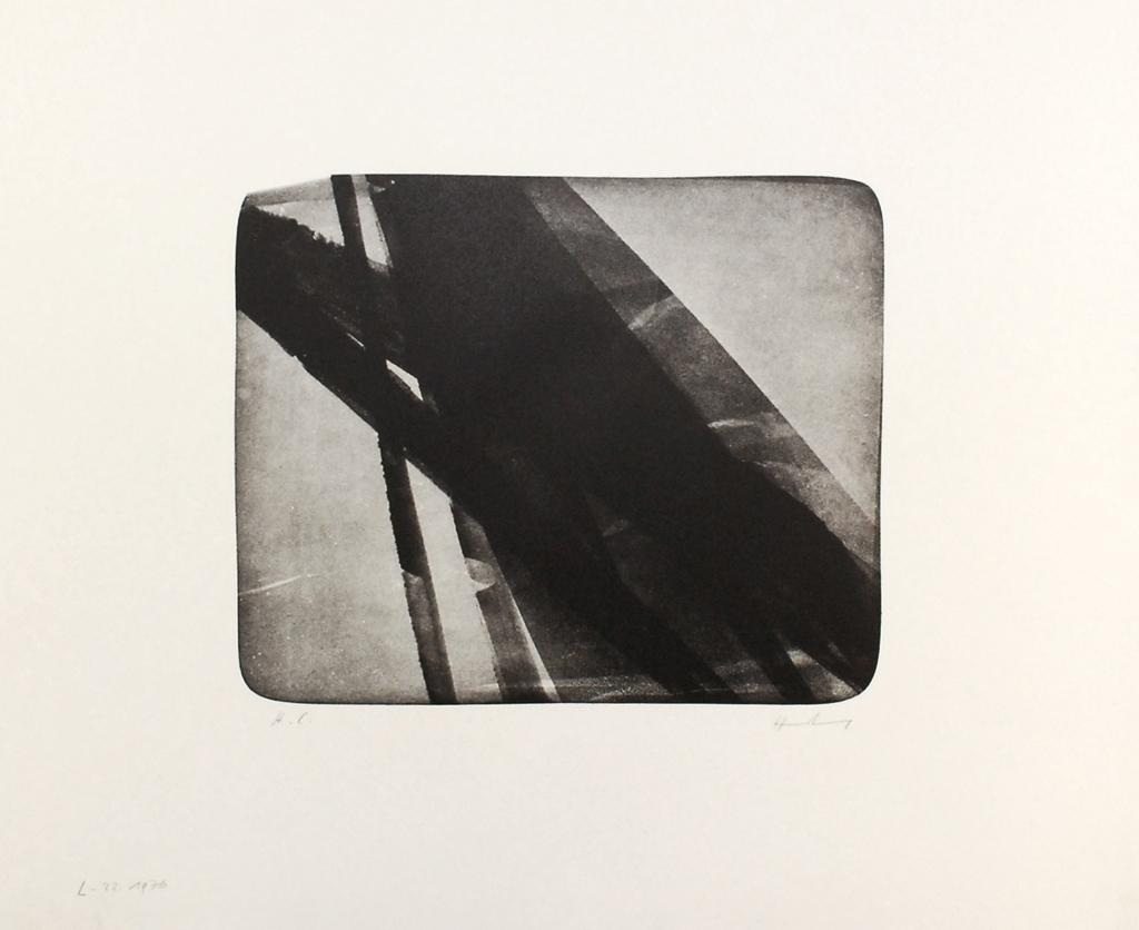 Hans Hartung - L 22, 1976, signiert, H.C.-Exemplar kopen? Bied vanaf 250!