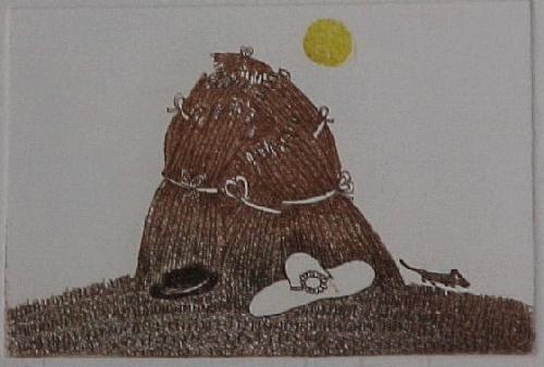 Christine Thouzeau - La meule. kleine Farbradierung,. 1977 kopen? Bied vanaf 30!