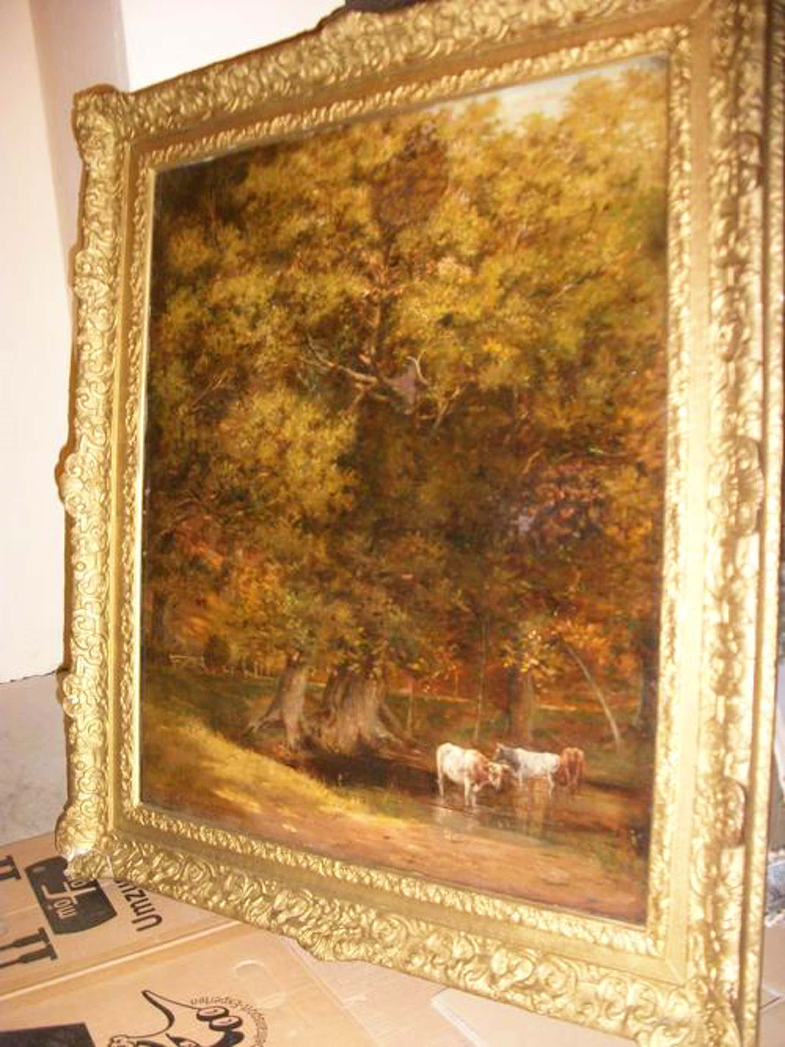 Davidson Knowles - DAVIDSON KNOWLES, Landschaft mit Kühen kopen? Bied vanaf 1750!