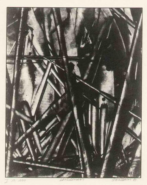Jörg Steinbach - LANDSCHAFT1 -1989 Handsignierte Lithographie des EDITION SÜD Herausgebers aus CHEMNITZ-DRESDEN (VBK) kopen? Bied vanaf 42!