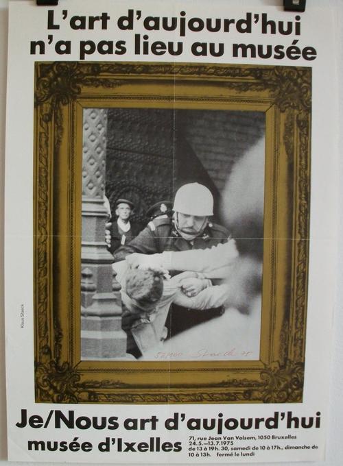 Klaus Staeck - L'Art d'aujourd'hui..., Offsethlithografie, 1975 kopen? Bied vanaf 60!
