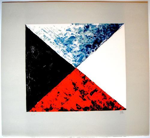Man Ray - Le Marchand de Couleurs - Originale handsignierte Farblithografie von 1974 kopen? Bied vanaf 590!