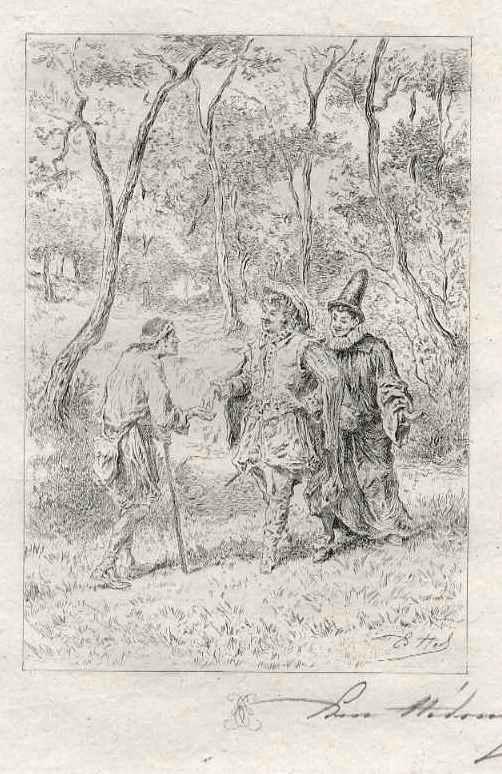 Edmond Hèdouin - Le MENDIANT - EauForte originale signée au crayon - Handsignierte OriginalRadierung - Der BETTLER kopen? Bied vanaf 39!