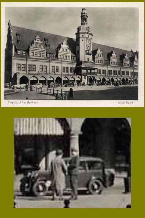 Max Baur - LEIPZIG - ALTES RATHAUS - 1930 - Montiertes Silbergelatine VINTAGE in der Tradition des BAUHAUSES kopen? Bied vanaf 38!