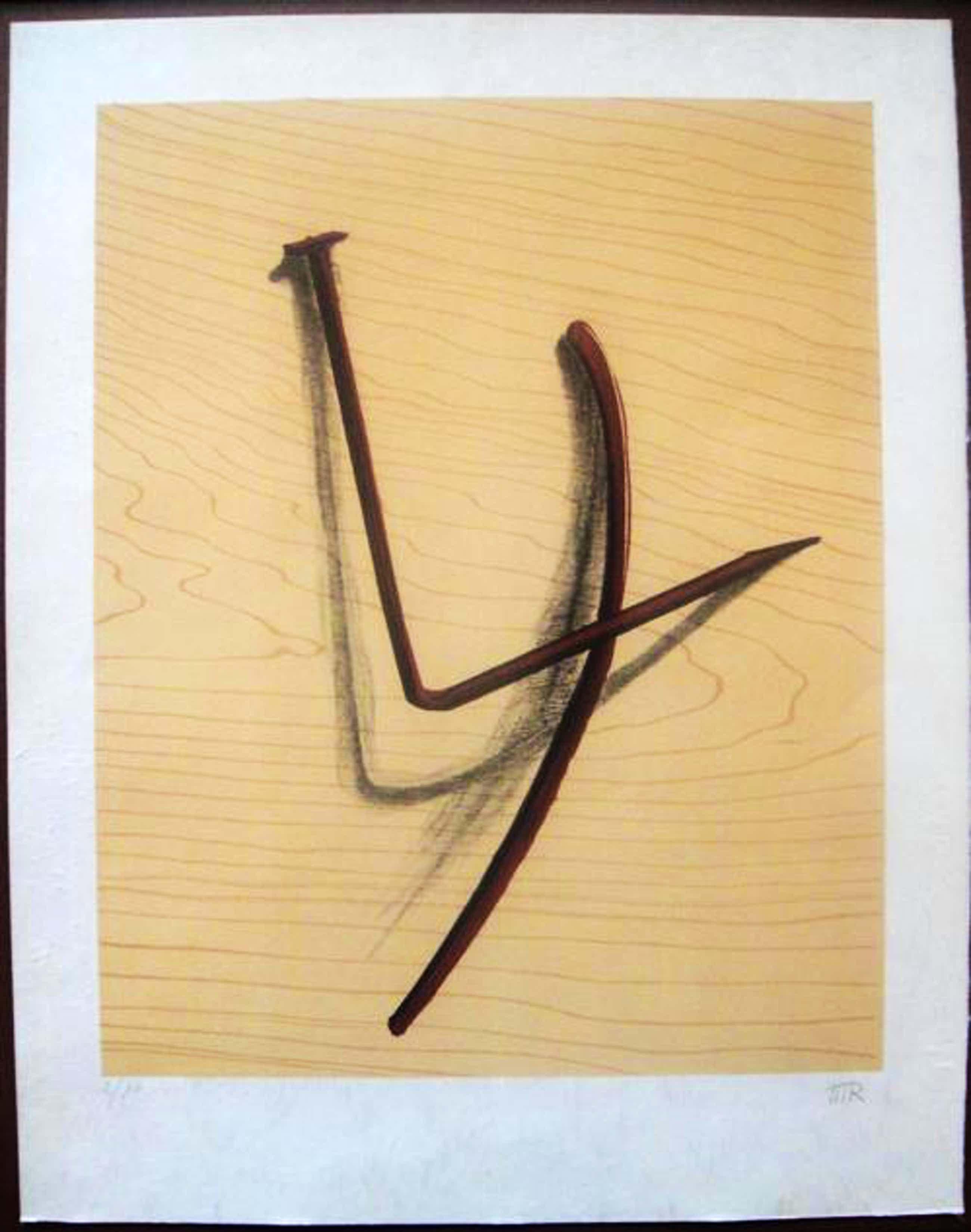 Man Ray - L'Emerveille Merveilleux - Originale handsignierte Farblithographie von 1973 - Sehr kleine Auflage. kopen? Bied vanaf 590!