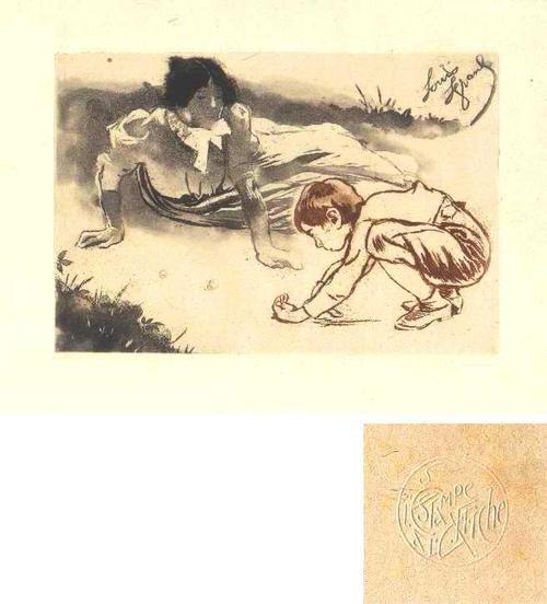 Edouard Lèon  Louis Legrand - Les billes kopen? Bied vanaf 280!