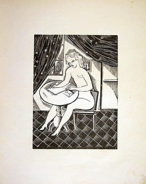 Tsuguharu Foujita - Liebesbrief Weiblicher Akt 1925 ars nuditas Love letter kopen? Bied vanaf 85!