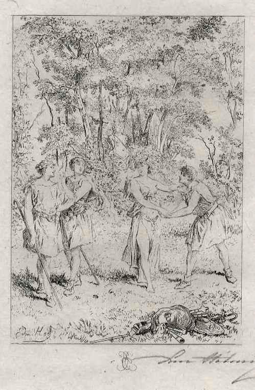 Edmond Hèdouin - LIEBESREIGEN - EauForte signée au crayon - Handsignierte OriginalRadierung kopen? Bied vanaf 39!
