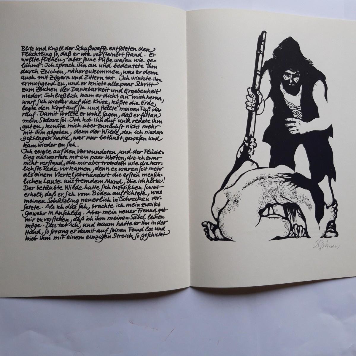 Eduard Prüssen - LINOLSCHNITT, 1-FARBIG SCHWARZ, 1977 kopen? Bied vanaf 55!