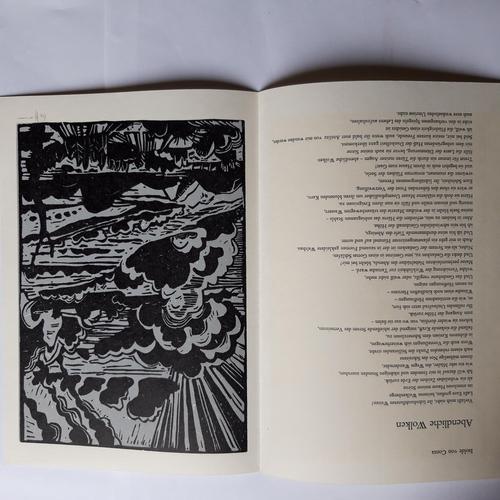 Flora Hoffmann - LINOLSCHNITT ZU ISOLDE-VON-CONTA-GEDICHT, 1981 kopen? Bied vanaf 55!