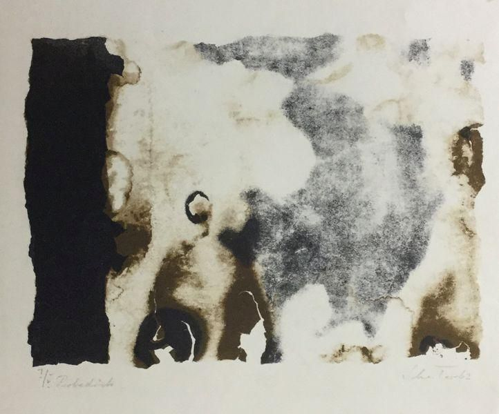 Johannes Schreiter - Lithografie 1962 kopen? Bied vanaf 90!