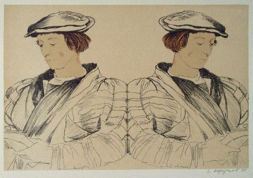 Svetlana Kopystiansky - Lithografie 64,5 x 47,7 kopen? Bied vanaf 115!