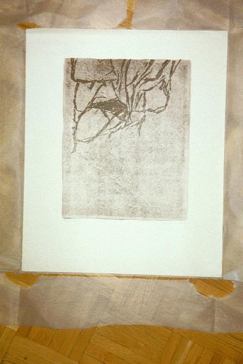 Peter Herkenrath - Lithografie, Probeabzug, handsigniert, 1966 kopen? Bied vanaf 120!