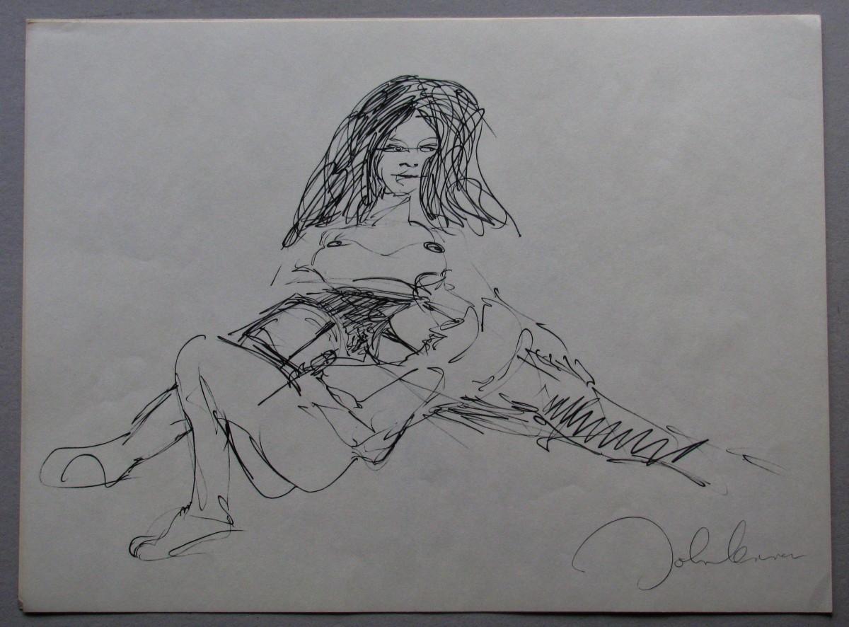 John Lennon - LITHOGRAPHIE 1970 EROTIK . kopen? Bied vanaf 280!