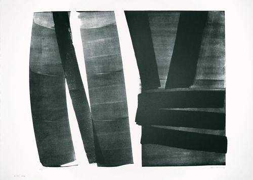 Hans Hartung - Lithographie, 1974. kopen? Bied vanaf 850!