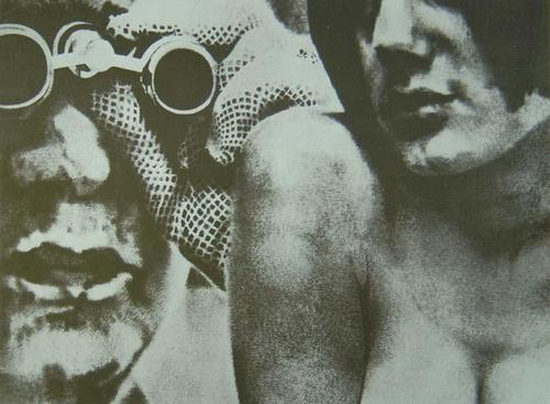 Gerard Gasiorowski - Lóuvreuse, Original-Serigraphie von 1970, verso signiert, numeriert und datiert. SELTEN ! kopen? Bied vanaf 250!