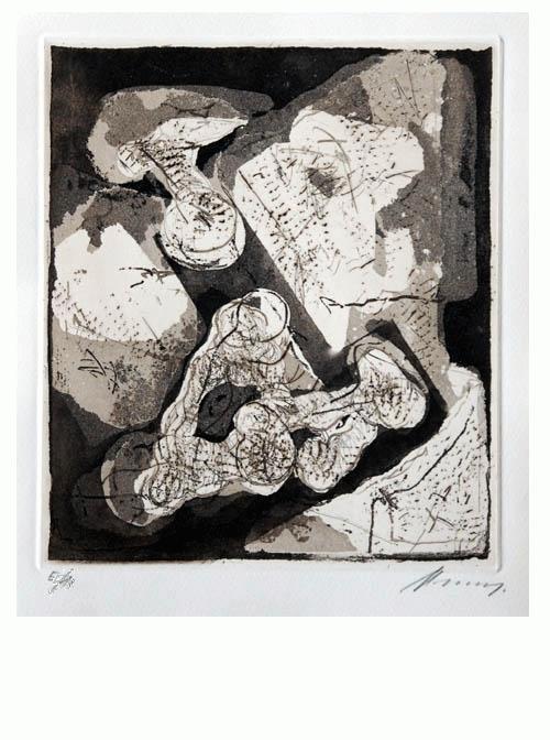Rudolf Hoflehner - - MAI 68 - Radierung auf Bütten, handsigniert, bezeichnet, 1968 kopen? Bied vanaf 390!
