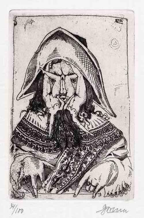 Arwed Gorella - Marquis de SADE - EROTISCHE OriginalRadierung des BERLINER Künstlers - 1968 handsigniert num. kopen? Bied vanaf 55!
